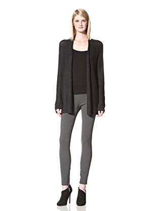 Halston Heritage Women's Collier Long Sleeve Cardigan (Black)