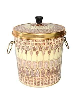Uptown Down Vintage Mosaic Ice Bucket