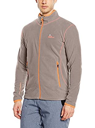 Peak Mountain Giacca in Pile Cartel Tortora 2XL