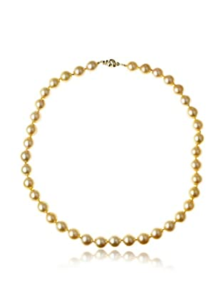 Radiance Pearl AAA Quality Golden South Sea Pearl Necklace