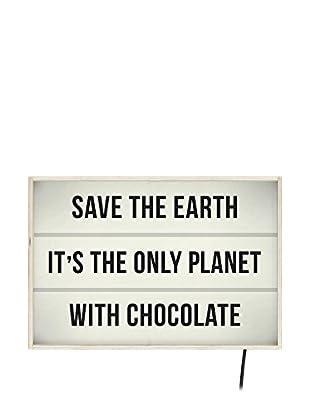 Really Nice Things Leuchtbild Chocolate