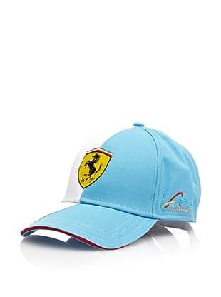 Ferrari Gorra Alonso Logo (Azul / Blanco)
