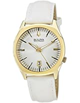 Bulova Accutron II Analog White Dial Men's Watch - 97B131