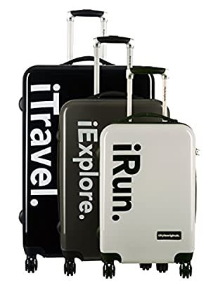 Istyle By Platinium Set 3 Trolley 4 Ruedas Itravel (Multicolor)