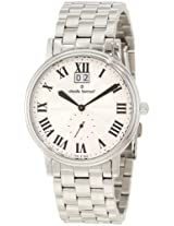 Claude Bernard Men's 64011 3 AR Classic Gents Sunray Dial Stainless Steel Big Date Watch