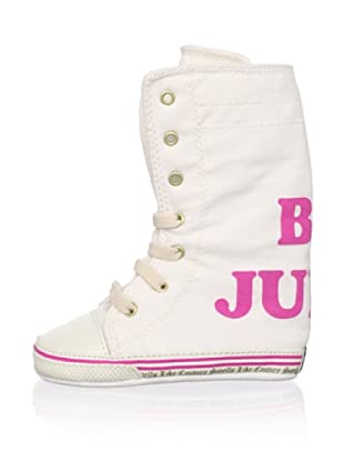 Juicy Baby Lace-Up Sneaker (White)