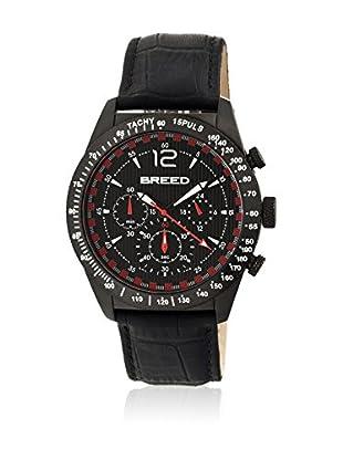 Breed Reloj con movimiento cuarzo japonés Brd5505 Negro 42  mm