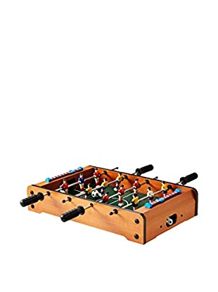 Trademark Mini Table Top Foosball, Tan/Green