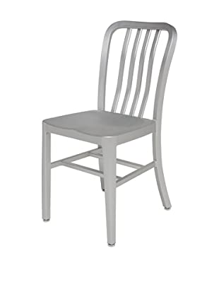 Industrial Chic Soho Chair, Aluminum