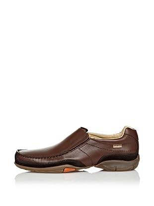 CallagHan Zapatos Casual Pala Lisa (Marrón)