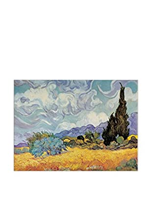 Artopweb Panel Decorativo Van Gogh Cypress Trees 136x96 cm