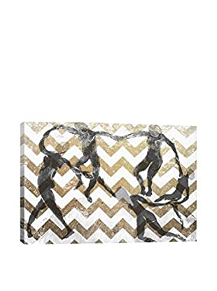 Dance  Gallery Wrapped Canvas Print