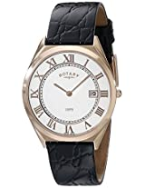 Rotary Ultra Slim Mens Date Display Watch - GS08003-01