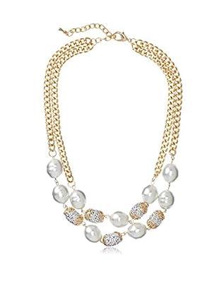 Leslie Danzis Baroque Pearl Necklace
