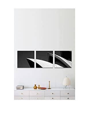 Sydney Opera House Panoramic Giclée Canvas Print Triptych