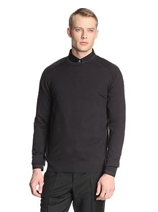 Jil Sander Men's Cashmere Pullover (Navy/Teal)