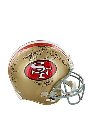 Steiner Sports Memorabilia Joe Montana & Dwight Clark Dual Signed San Francisco 49ers Proline Helmet
