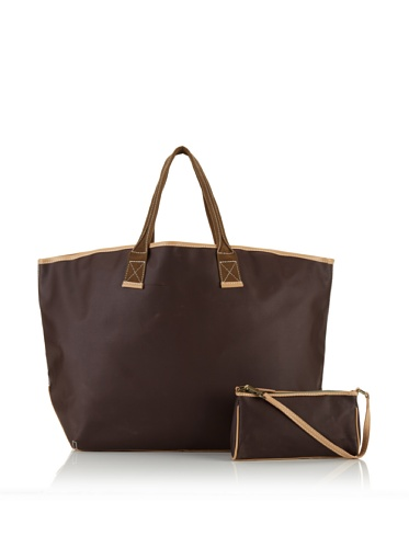 Carina Collection by Clava Women's Large Tote (Café)