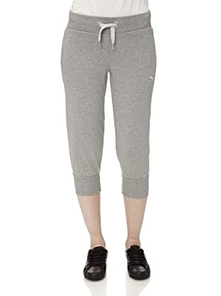 Puma Damen Hose Sweat (athletic gray heather)