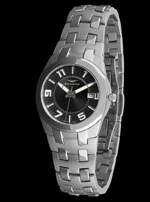 Sandoz 71568-05 - Reloj Col. Diver Acero Sumergible plata / negro
