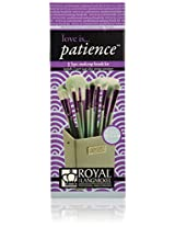 Royal Brush 12 Piece Brush Kit, Love is Patience