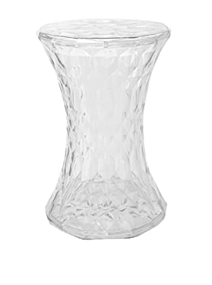 Stilnovo Crystal Stool, Clear
