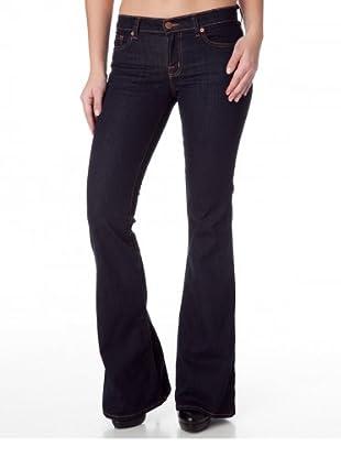 J Brand Jeans Flare Leg Babe Elephant Bell (Blau)