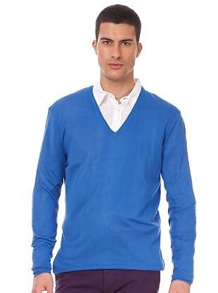 Armand Basi Jersey Pico (azulón)