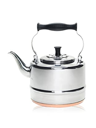 BonJour 2-Qt Stainless Steel Classic Tea Kettle with Copper Bottom