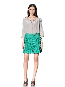 Calypso St. Barth Women's Sweet Tart Skirt (Kelly Green)