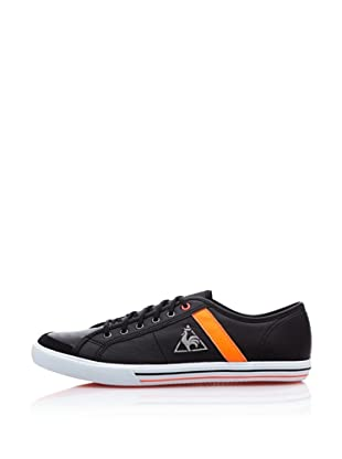 Le Coq Sportif Zapatillas Saint Malo Lea/Fluo (Negro / Naranja)