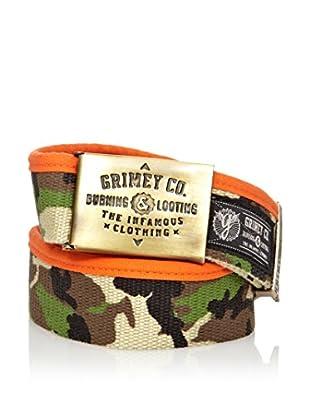 Grimey Wear Cinturón Army (Verde Camuflaje)