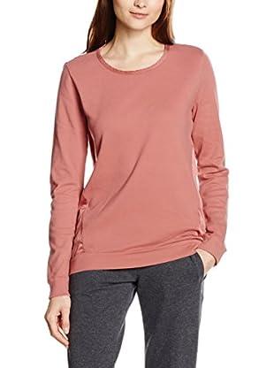 DEHA Camiseta Manga Larga B22652 Granate Lavado L