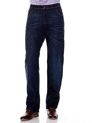 Pedro Del Hierro Jeans Bolsillos (Azul)