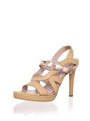 Rebecca Minkoff Women's Bless Sandal (Nude)