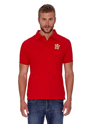 Polo Club Polo Custom Fit Básico (Rojo)