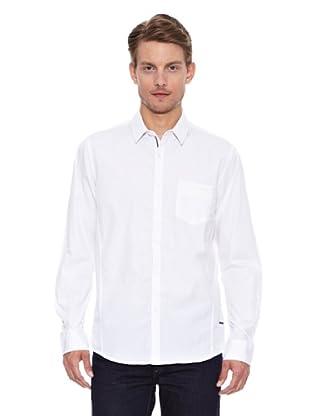 Salsa Camisa Monaco Regular Bolso (Blanco)
