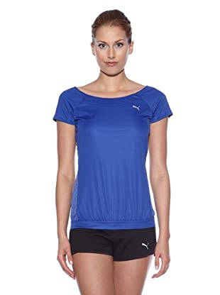 PUMA Trainingsshirt TP Graphic (clematis blau)