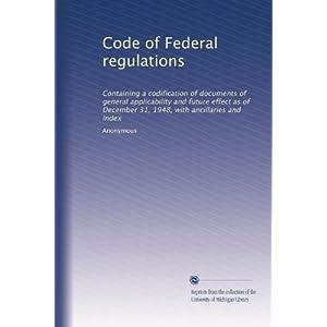 【クリックでお店のこの商品のページへ】Code of Federal regulations (Vol.5510): Anonymous: 洋書
