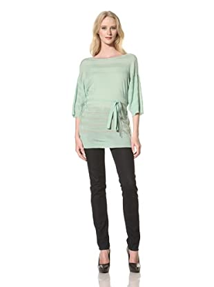 Just Cavalli Women's Cowl Back Sweater (Turquoise)