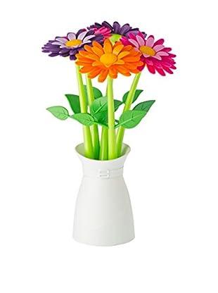 VIGAR Set Bolígrafo de Bola 5 Uds. Flower Shop Multicolor