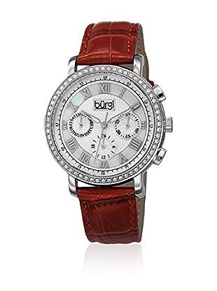 Burgi Uhr mit Schweizer Quarzuhrwerk BUR087RD 38 mm