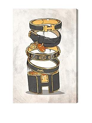 Oliver Gal Dark Arm Candy Canvas Art