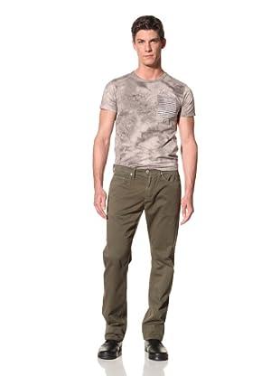 Kasil Workshop Men's Davidson Straight Fit Pants (Army)
