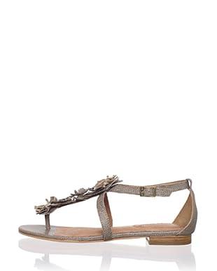 Corso Como Women's Fountain Flat Sandal (Taupe)