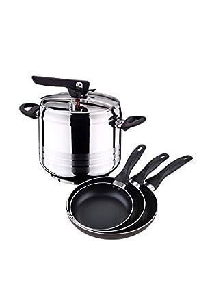 Bergner Batería de cocina 4 Piezas PK354 Bicolor