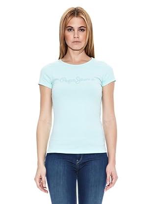 Pepe Jeans London Camiseta Mika (Azul Claro)