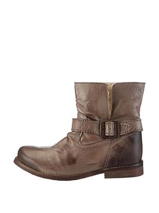Buffalo London ES 1000 GARDA 123334 - Botas de cuero para mujer (Gris)