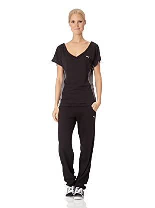 Puma Damen T-Shirt Move Trend (Black)