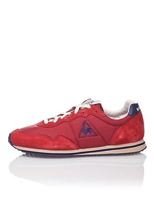 Le Coq Sportif Zapatillas Retro Lifestyle Milos (Rojo)